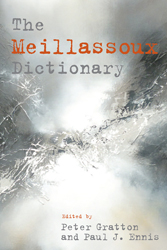 The Meillassoux Dictionary